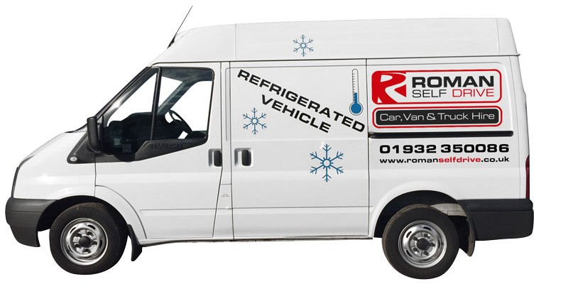 SHORT WHEEL BASE REFRIGERATED / CHILLER PANEL VAN Car Hire Deals from Roman Self Drive