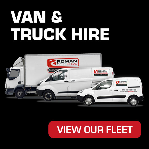 Van & Truck Hire from Roman Self Drive