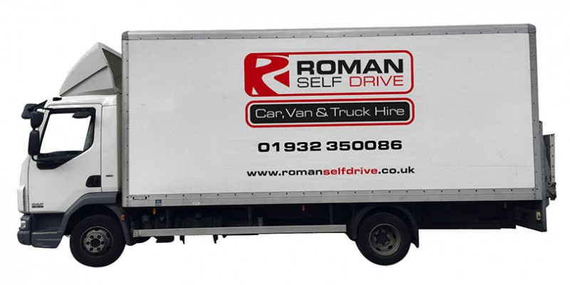 7.5 TONNE BOX TAIL LIFT Car Hire Deals from Roman Self Drive