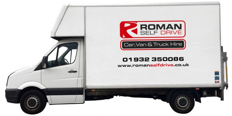 JUMBO LUTON TAIL LIFT Car Hire Deals from Roman Self Drive