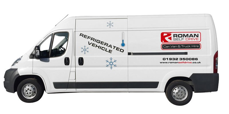 LONG WHEEL BASE HI-TOP REFRIGERATED / CHILLER PANEL VAN Car Hire Deals from Roman Self Drive