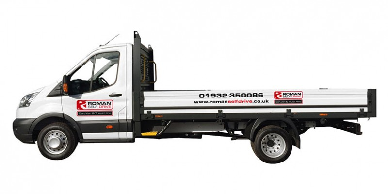 3.5 TONNE DROPSIDE (4M LENGTH BODY) Car Hire Deals from Roman Self Drive