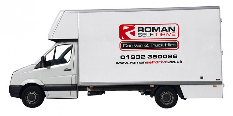 DROPWELL / FURNITURE LUTON Car Hire Deals from Roman Self Drive