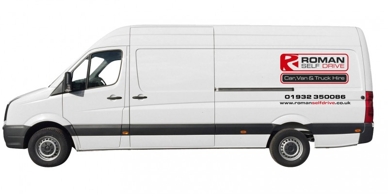 EXTRA LONG WHEEL BASE PANEL VAN Car Hire Deals from Roman Self Drive