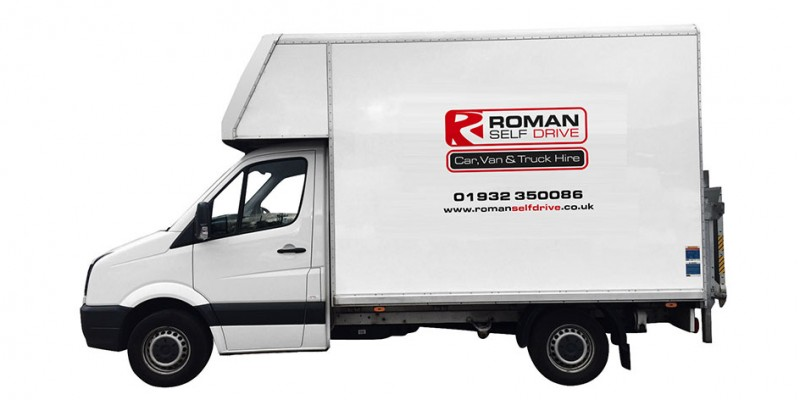 LUTON TAIL LIFT Car Hire Deals from Roman Self Drive