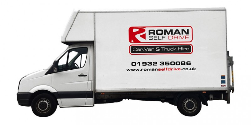 LWB LUTON TAIL LIFT Car Hire Deals from Roman Self Drive