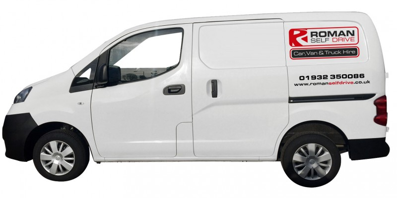 SMALL MAXI VAN Car Hire Deals from Roman Self Drive